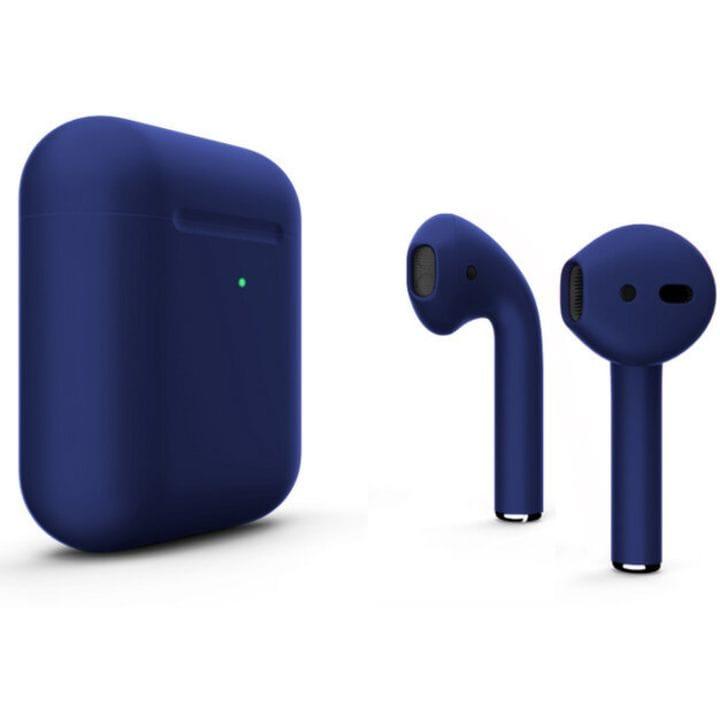 Беспроводная гарнитура Apple AirPods 2 Wireless (Matte Flesh Blue) фото