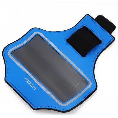 Спортивный-чехол на руку Rock Slim Sport Armband для Apple iPhone 7 Plus /6 Plus /6S Plus BlueУниверсальные, спортивные, водонепроницаемые<br>Спортивный-чехол на руку Rock Slim Sport Armband для Apple iPhone 7 Plus /6 Plus /6S Plus Blue<br>