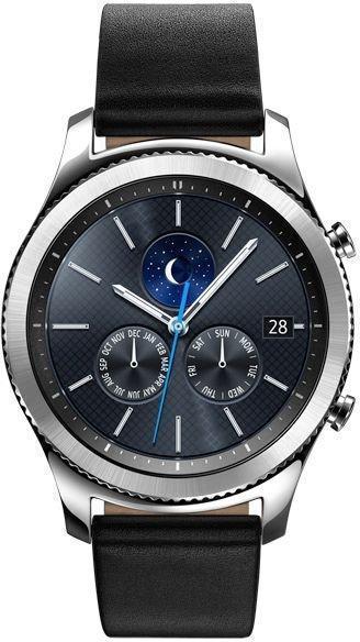 Умные часы Samsung Gear S3 Classic (SM-R770) SilverSamsung<br>Умные часы Samsung Gear S3 Classic (SM-R770) Silver<br>