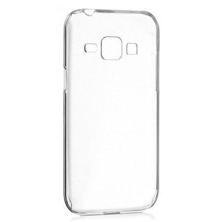 Чехол-накладка Samsung Slim Cover для Galaxy J1 (2016) SM-J120 пластик прозрачныйдля Samsung<br>Чехол-накладка Samsung Slim Cover для Galaxy J1 (2016) SM-J120 пластик прозрачный<br>