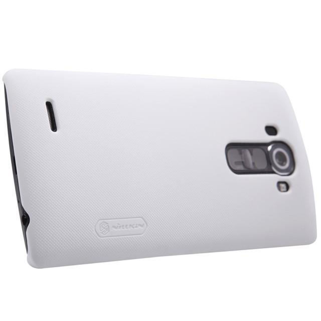 Чехол-накладка Nillkin Frosted Shield для LG G4c / Magna / H522 / H502 (пластиковый) White