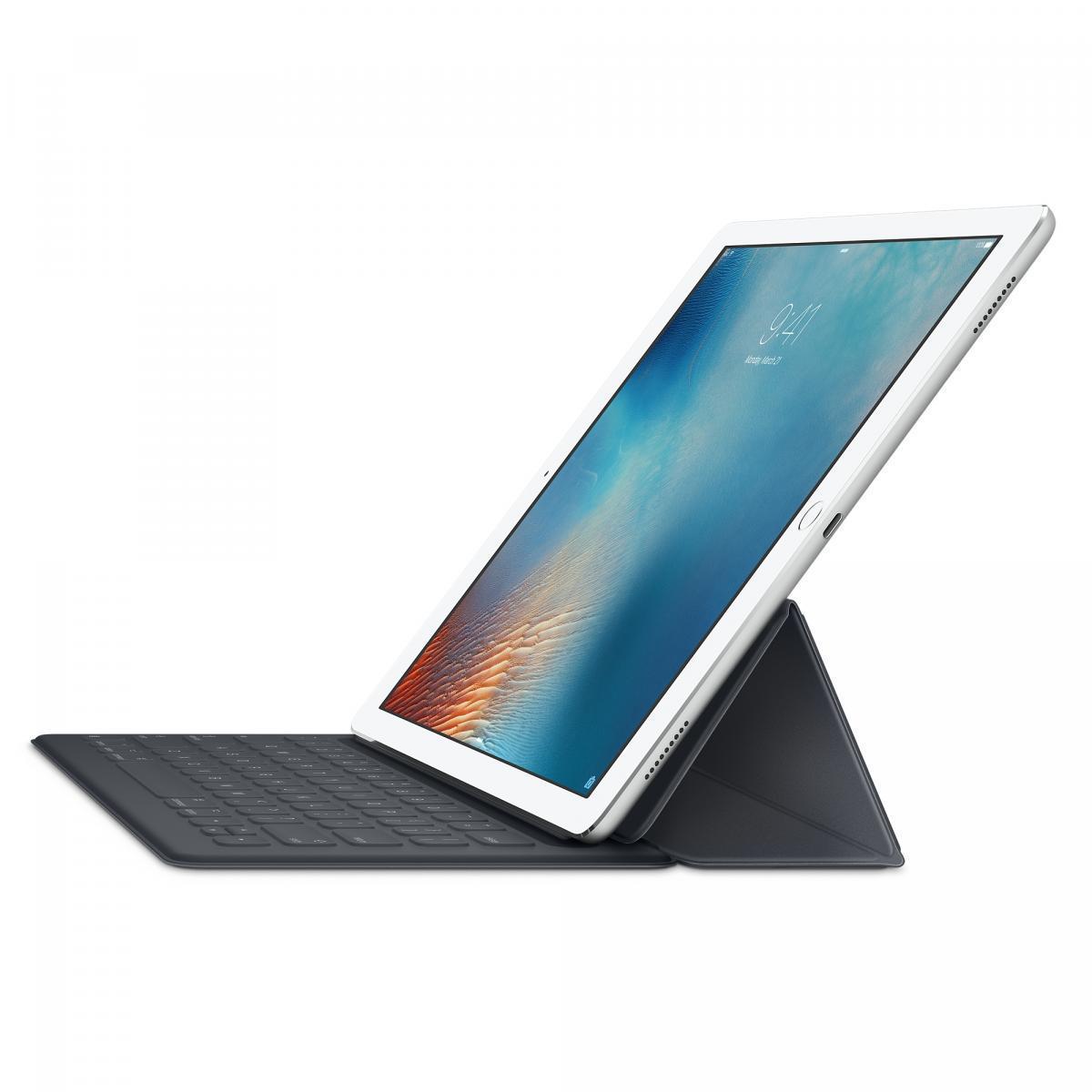 Чехол-клавиатура Apple Smart Keyboard для iPad Pro 12,9 английская (нейлон с подставкой) черный