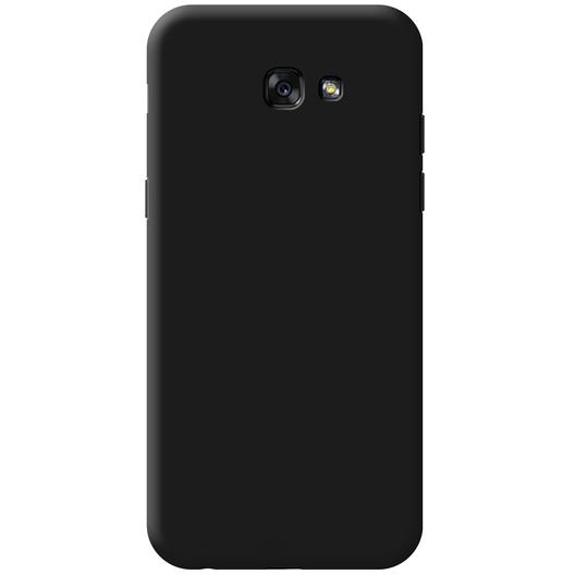 Чехол-накладка для Samsung Galaxy A7 (2017) SM-A720 силиконовый soft touch черныйдля Samsung<br>Чехол-накладка для Samsung Galaxy A7 (2017) SM-A720 силиконовый soft touch черный<br>