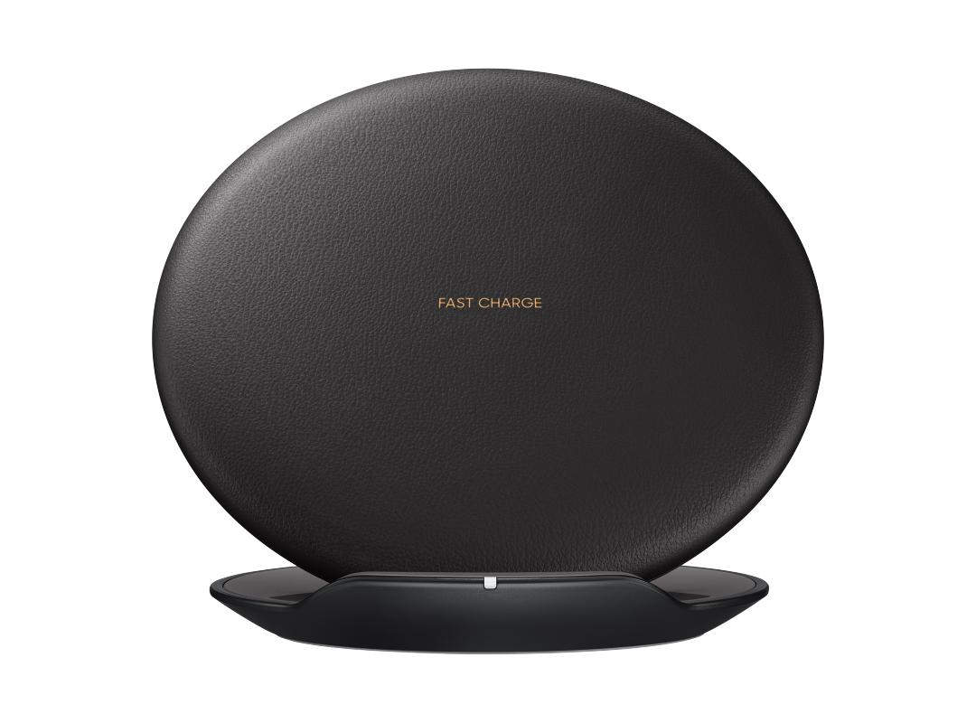 Купить со скидкой Беспроводное зарядное устройство Samsung Wireless Charger Convertible Black (EP-PG950BBRGRU)