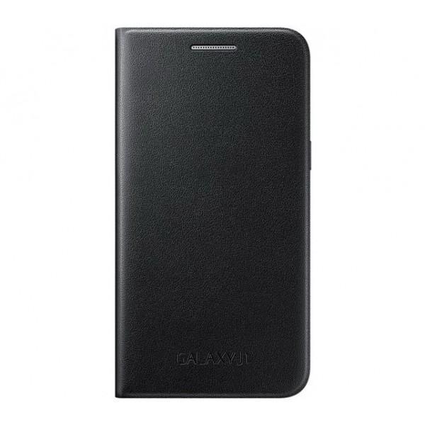 Чехол-книжка Samsung Flip Cover для Galaxy J1 (EF-FJ100BBEGRU) черныйдля Samsung<br>Чехол-книжка Samsung Flip Cover для Galaxy J1 (EF-FJ100BBEGRU) черный<br>