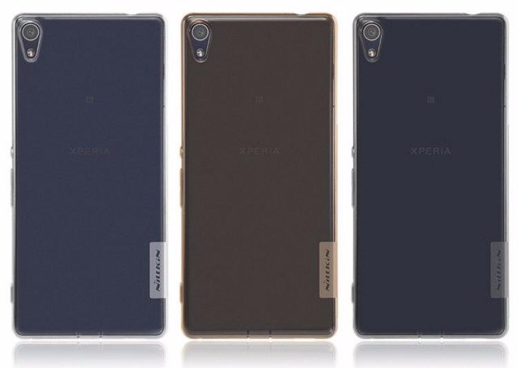 Чехол-накладка Nillkin Nature для Sony Xperia XA / XA Dual силиконовый прозрачно-черныдля Sony<br>Чехол-накладка Nillkin Nature для Sony Xperia XA / XA Dual силиконовый прозрачно-черны<br>