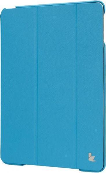 Чехол-книжка Jisoncase Executive для Apple iPad Air/Air 2 (искусственная кожа с подставкой) Sky Blue