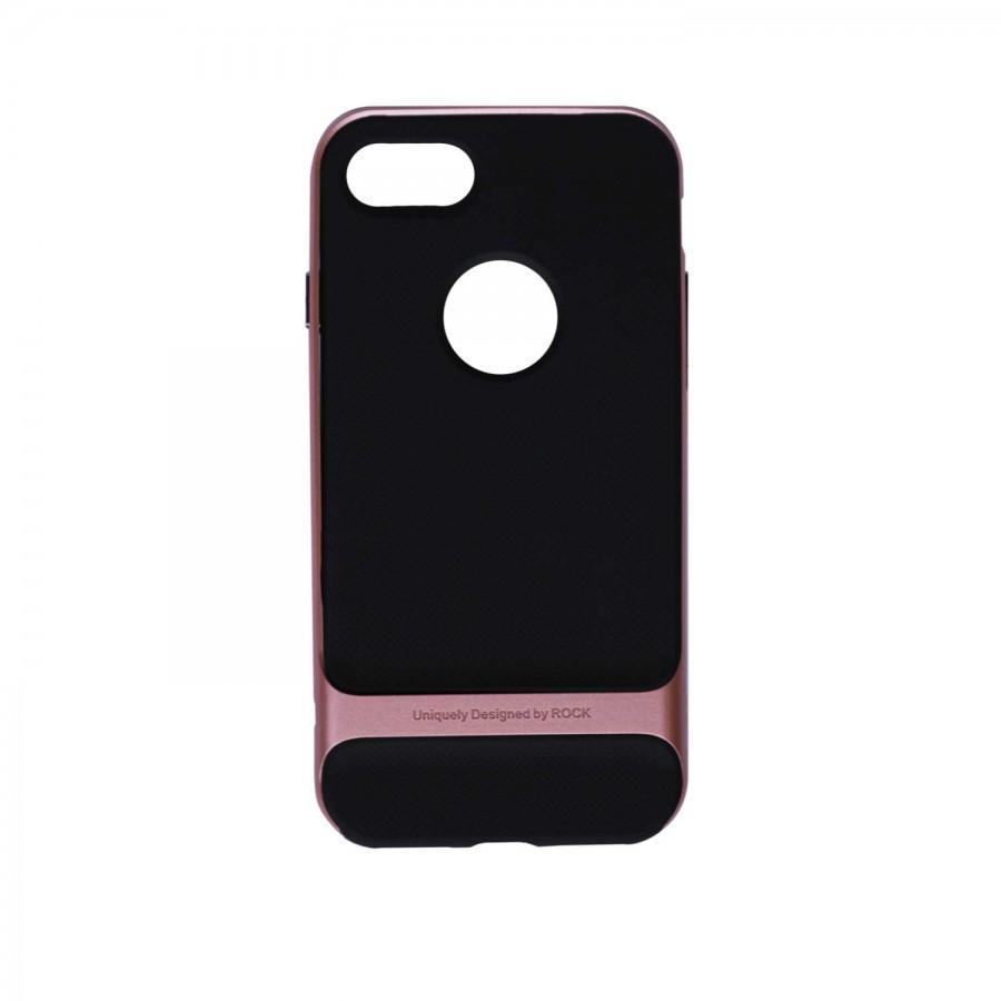 Чехол-накладка Rock Royce Series для Apple iPhone 7/8 пластик/силикон (Rose Gold)