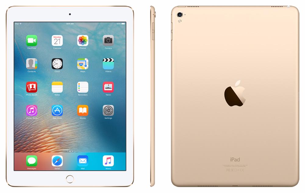 Apple iPad Pro 9.7 128Gb Wi-Fi + Cellular Gold iPad Pro<br>Планшет Apple iPad Pro 9.7 128Gb Wi-Fi + Cellular Gold<br>