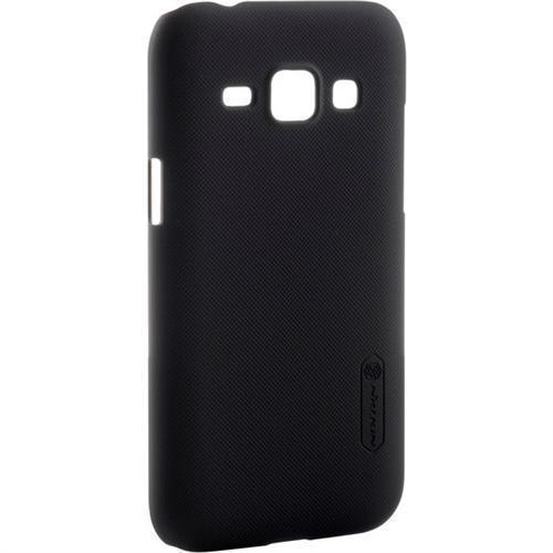 Чехол-накладка Nillkin Frosted Shield для Samsung Galaxy J1 (SM-J100/SM-J110) пластиковый черныйдля Samsung<br>Чехол-накладка Nillkin Frosted Shield для Samsung Galaxy J1 (SM-J100/SM-J110) пластиковый черный<br>