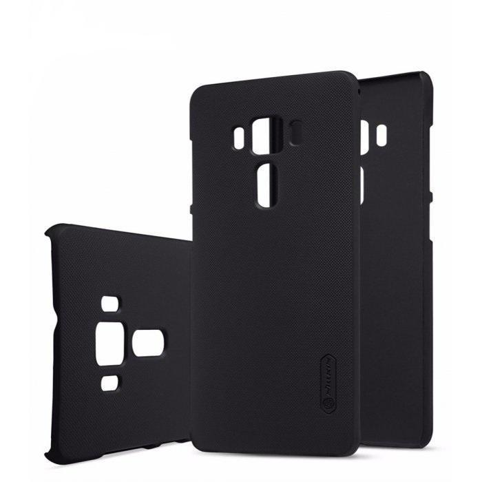 Чехол-накладка Nillkin Frosted Shield для Asus Zenfone 3 Deluxe ZS570KL пластиковый черныйдля ASUS<br>Чехол-накладка Nillkin Frosted Shield для Asus Zenfone 3 Deluxe ZS570KL пластиковый черный<br>