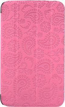 Чехол-книжка Gissar Paisley для Samsung Galaxy Tab 3 7.0 (SM-T210/SM-T211) натуральная кожа розовыйдля Samsung<br>Чехол-книжка Gissar Paisley для Samsung Galaxy Tab 3 7.0 (SM-T210/SM-T211) натуральная кожа розовый<br>