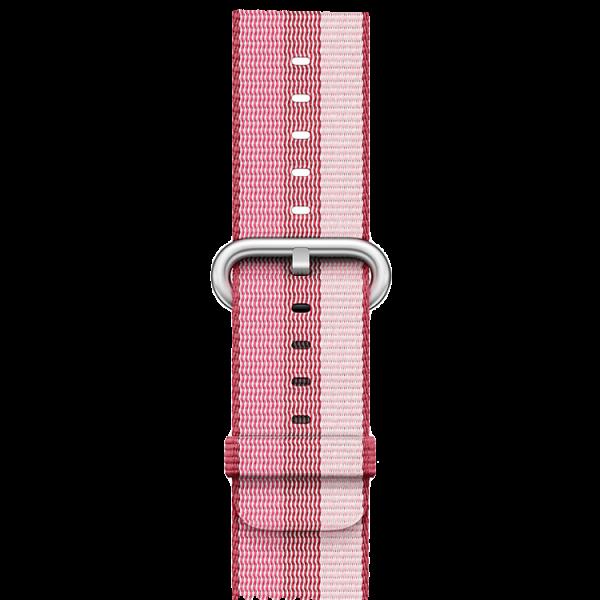 Ремешок Apple для Watch 38mm Woven Nylon (Berry) MPVW2ZM/AРемешки и браслеты для умных часов Apple<br>Ремешок Apple для Watch 38mm Woven Nylon (Berry) MPVW2ZM/A<br>