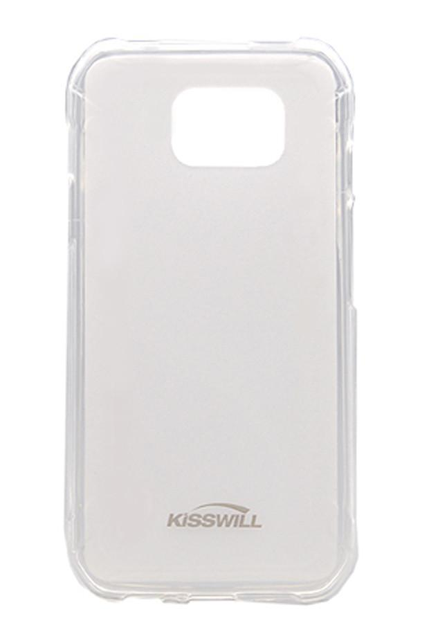 Купить Чехол-накладка Jekod/KissWill для Samsung Galaxy S6 Active G890 силиконовый (прозрачный)