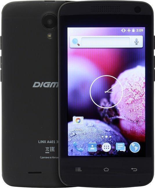 Digma Linx A401 3G BlackDigma<br>Digma Linx A401 3G Black<br>