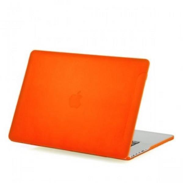 Чехол-накладка BTA-Workshop для Apple MacBook Pro Retina 13 матовая прозрачно-оранжеваядля Apple MacBook Pro 13 with Retina display<br>Чехол-накладка BTA-Workshop для Apple MacBook Pro Retina 13 матовая прозрачно-оранжевая<br>
