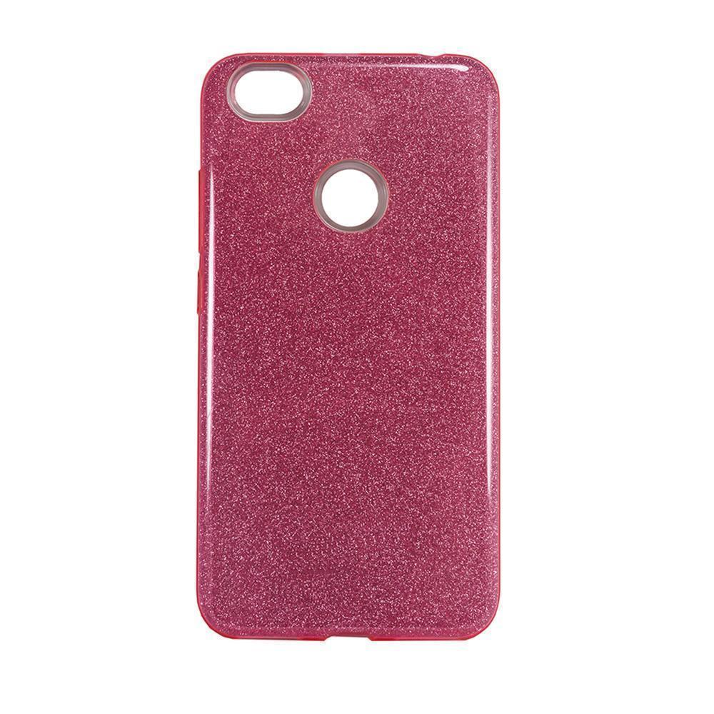 Чехол-накладка Protective Series Case для Xiaomi Redmi 5A силикон (блестящий розовый) фото
