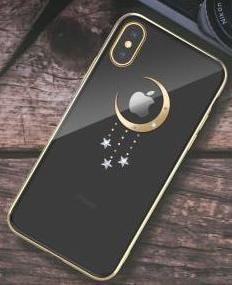 Чехол-накладка Devia Meteor Crystal Series Case для Apple iPhone XS Max пластиковый Gold