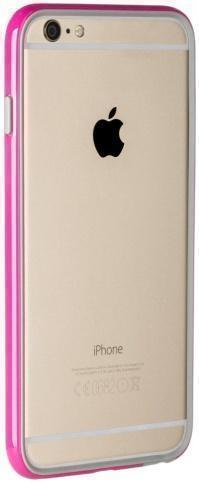 Чехол-бампер Puro Bumper Frame для Apple iPhone 6 Plus/6S Plus розовыйдля iPhone 6 Plus/6S Plus<br>Чехол-бампер Puro Bumper Frame для Apple iPhone 6 Plus/6S Plus розовый<br>