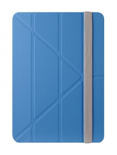 Чехол-книжка Ozaki O!Coat Slim-Y 360° (OC110BU) для Apple iPad Air (полиуретан с подставкой) blueдля Apple iPad Air<br>Чехол-книжка Ozaki O!Coat Slim-Y 360° (OC110BU) для Apple iPad Air (полиуретан с подставкой) blue<br>