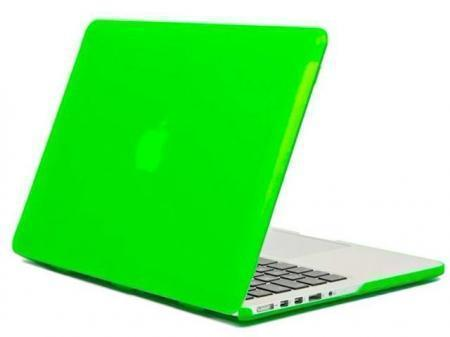 Пластиковый чехол Daav HardShell Satin для Macbook Pro with Retina Display 13 зеленыйдля Apple MacBook Pro 13 with Retina display<br>Пластиковый чехол Daav HardShell Satin для Macbook Pro with Retina Display 13 зеленый<br>