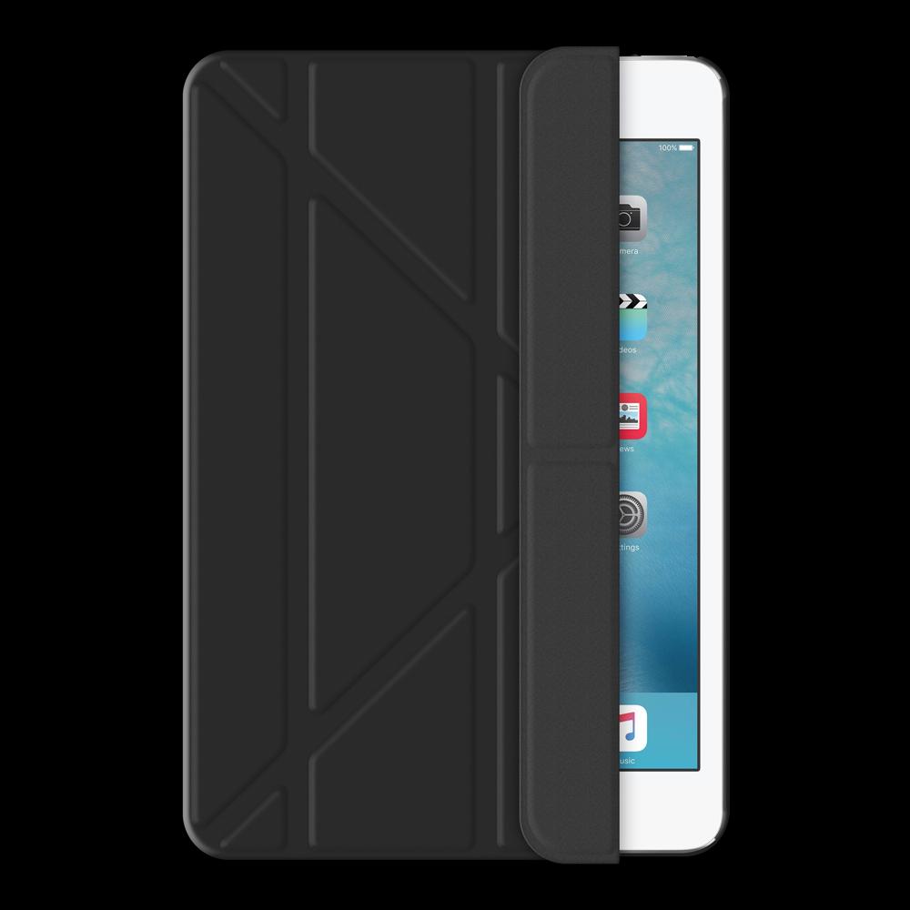Чехол-книжка Deppa Wallet Onzo для Apple iPad mini 4 (искусственная кожа с подставкой) (черный)