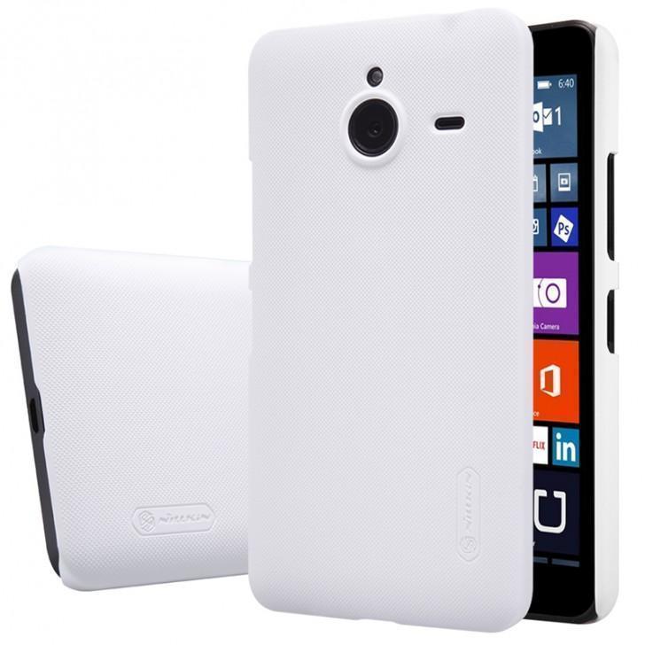 Чехол-книжка Nillkin Sparkle Series для Microsoft Lumia 640 XL пластик-полиуретан (белый)для Nokia/Microsoft<br>Чехол-книжка Nillkin Sparkle Series для Microsoft Lumia 640 XL пластик-полиуретан (белый)<br>