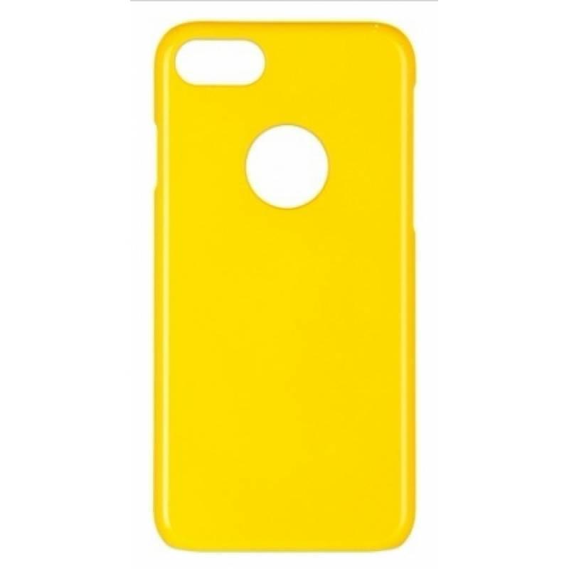 Чехол-накладка iCover Glossy для Apple iPhone 7/8 пластиковый желтый (IP7-G-YL)для iPhone 7/8<br>Чехол-накладка iCover Glossy для Apple iPhone 7/8 пластиковый желтый (IP7-G-YL)<br>