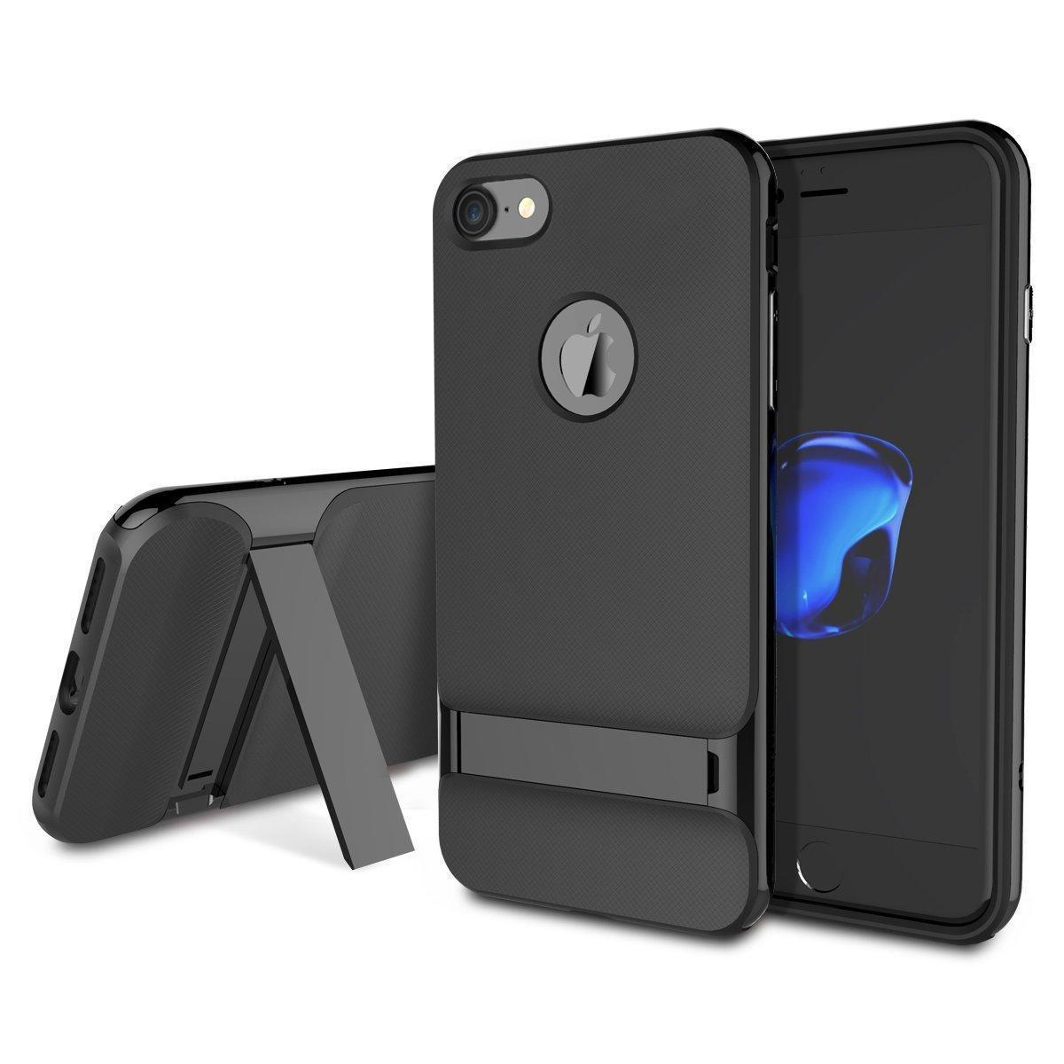Чехол-накладка Rock Royce Series Kickstand для Apple iPhone 7 пластик/силикон (Gray)