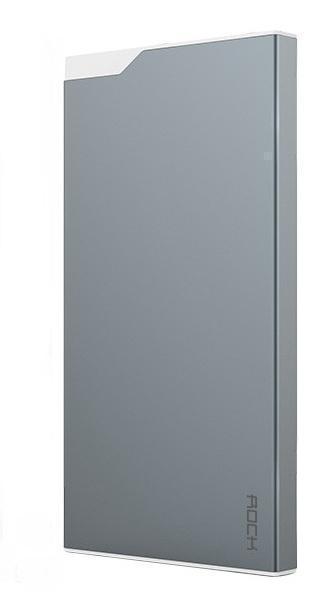 Универсальный внешний аккумулятор Rock TYPE C Power Bank 5000 mAh 3.0 А, металл space grey