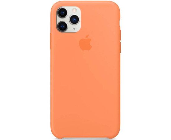 Чехол-накладка Silicone Case Series для Apple iPhone 11 Pro (оранжевый) фото