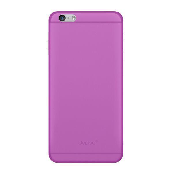 Купить Чехол-накладка Deppa Sky Case для Apple iPhone 6 Plus/6S Plus фиолетовый + (защитная пленка)