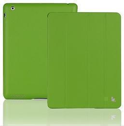 Чехол-книжка JustCase Premium для Apple iPad Air (искусственная кожа с подставкой) зеленый