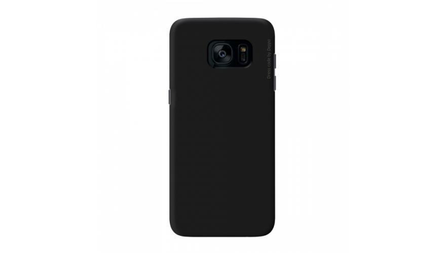 Чехол-накладка Deppa Air Case для Samsung Galaxy S7 (SM-G930) пластик черныйдля Samsung<br>Чехол-накладка Deppa Air Case для Samsung Galaxy S7 (SM-G930) пластик черный<br>
