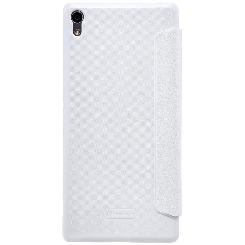 Чехол-книжка Nillkin Sparkle Series для Sony Xperia XA Ultra / Ultra Dual пластик-полиуретан (белый)для Sony<br>Чехол-книжка Nillkin Sparkle Series для Sony Xperia XA Ultra / Ultra Dual пластик-полиуретан (белый)<br>