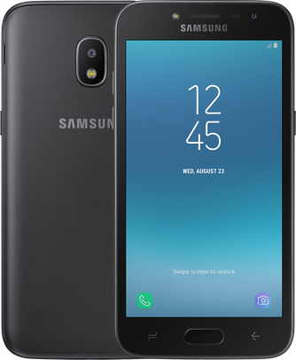 Картинка для Samsung Galaxy J2 (2018) (SM-J250F/DS) Black (SM-J250FZKDSER)