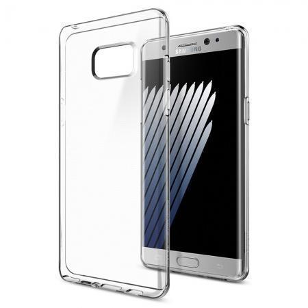 Чехол-накладка Spigen SGP 562CS20405 Liquid Crystal для Samsung Galaxy Note 7 Clear Crystalдля Samsung<br>Чехол-накладка Spigen SGP 562CS20405 Liquid Crystal для Samsung Galaxy Note 7 Clear Crystal<br>