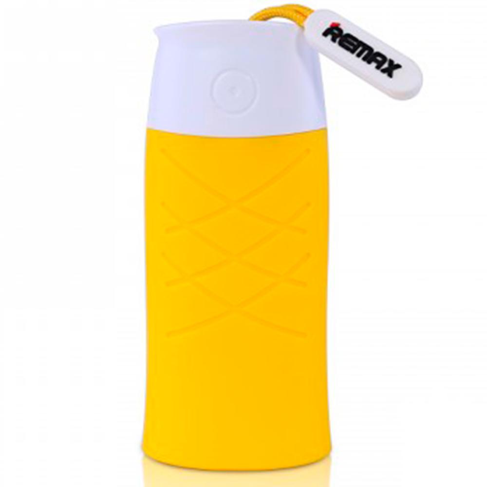 Купить со скидкой Универсальный внешний аккумулятор Remax Fish Power Box 5000 mAh 1.5 А, USBx1 пластик/резина Yellow