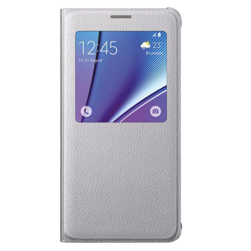 Чехол-книжка Samsung S-View Cover для Galaxy Note 5 полиуретан, поликарбонат стальной EF-CN920PSEGRUдля Samsung<br>Чехол-книжка Samsung S-View Cover для Galaxy Note 5 полиуретан, поликарбонат стальной EF-CN920PSEGRU<br>