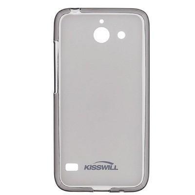Чехол-накладка Jekod/KissWill для Huawei Ascend Y550 силиконовый матовый прозрачно-черныйдля Huawei<br>Чехол-накладка Jekod/KissWill для Huawei Ascend Y550 силиконовый матовый прозрачно-черный<br>