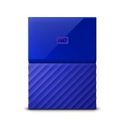 Внешний жесткий диск HDD  WD  4 TB  My Passport синий, 2.5, USB 3.0Жесткие диски<br>Внешний жесткий диск HDD  WD  4 TB  My Passport синий, 2.5, USB 3.0<br>