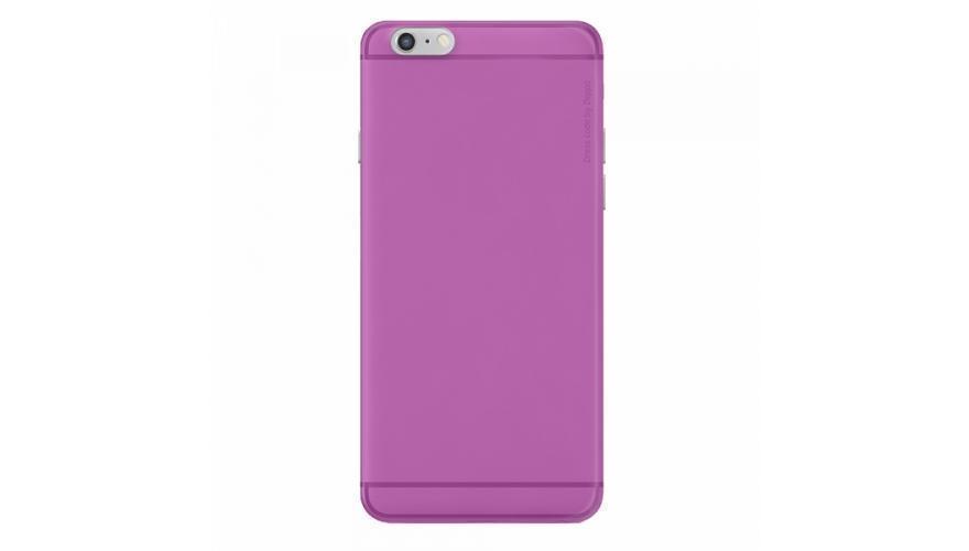 Чехол-накладка Deppa Sky Case для Apple iPhone 6 Plus/6S Plus пластиковый розовый + защитная пленка