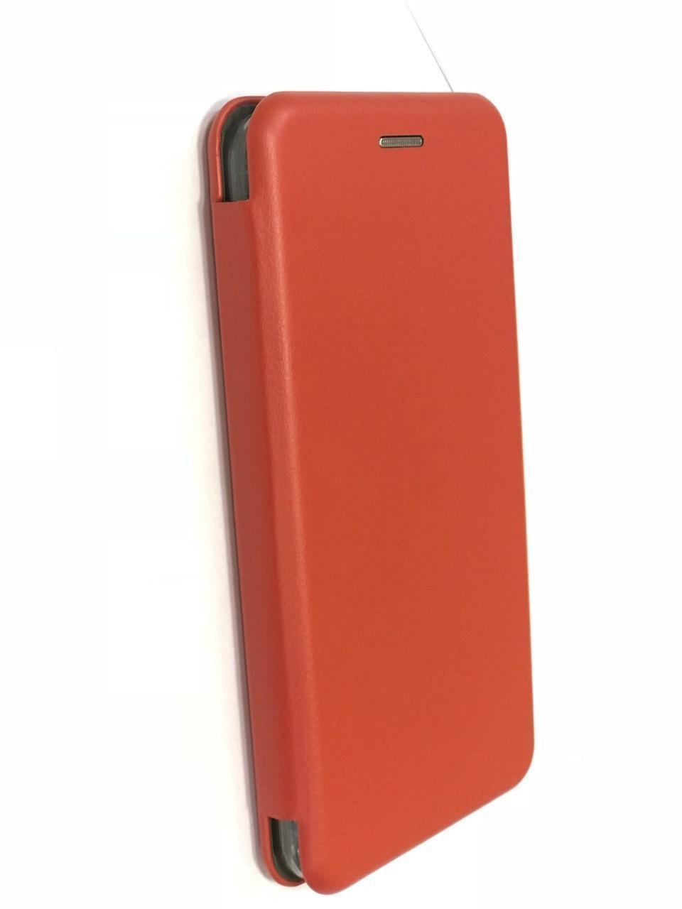 Чехол-книжка Flip Case для Xiaomi Redmi 5 искусственная кожа, силикон красныйдля Xiaomi<br>Чехол-книжка Flip Case для Xiaomi Redmi 5 искусственная кожа, силикон красный<br>