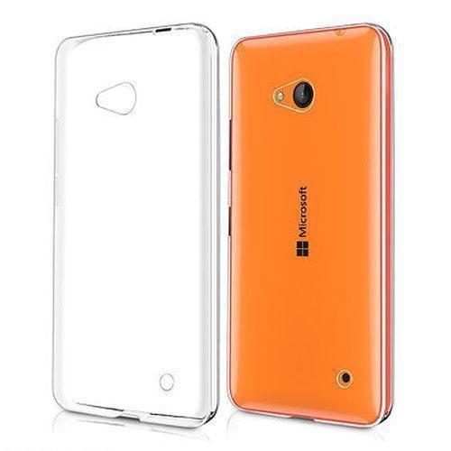 Чехол-накладка для Microsoft Lumia 640 силиконовый прозрачныйдля Nokia/Microsoft<br>Чехол-накладка для Microsoft Lumia 640 силиконовый прозрачный<br>