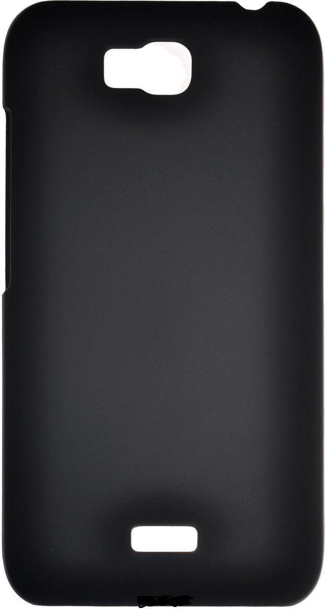 Чехол-накладка для Huawei Ascend G630 силиконовый черный