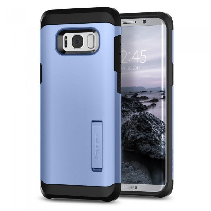 Чехол-накладка Spigen Tough Armor для Samsung Galaxy S8+ голубой (SGP 571CS21696)для Samsung<br>Чехол-накладка Spigen Tough Armor для Samsung Galaxy S8+ голубой (SGP 571CS21696)<br>