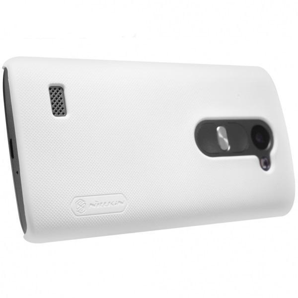 Чехол-накладка Nillkin Frosted Shield для LG Leon H324 (пластиковый) Whiteдля LG<br>Чехол-накладка Nillkin Frosted Shield для LG Leon H324 (пластиковый) White<br>