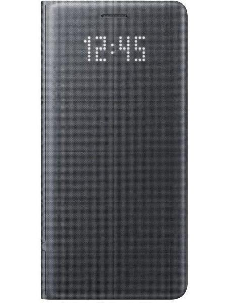 Чехол-книжка Samsung Led View Cover для Galaxy Note 7 полиуретан черный (EF-NN930PBEGRU)для Samsung<br>Чехол-книжка Samsung Led View Cover для Galaxy Note 7 полиуретан черный (EF-NN930PBEGRU)<br>