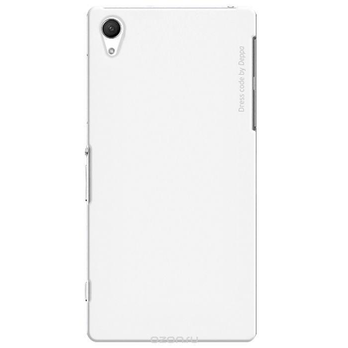 Чехол-накладка Deppa Air Case для Sony Xperia Z2 белый + защитная пленкадля Sony<br>Чехол-накладка Deppa Air Case для Sony Xperia Z2 белый + защитная пленка<br>
