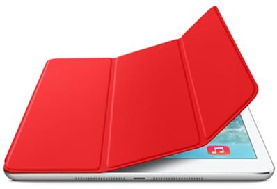 Чехол-книжка Smart Case для Apple iPad Air (искусственная кожа с подставкой) красный
